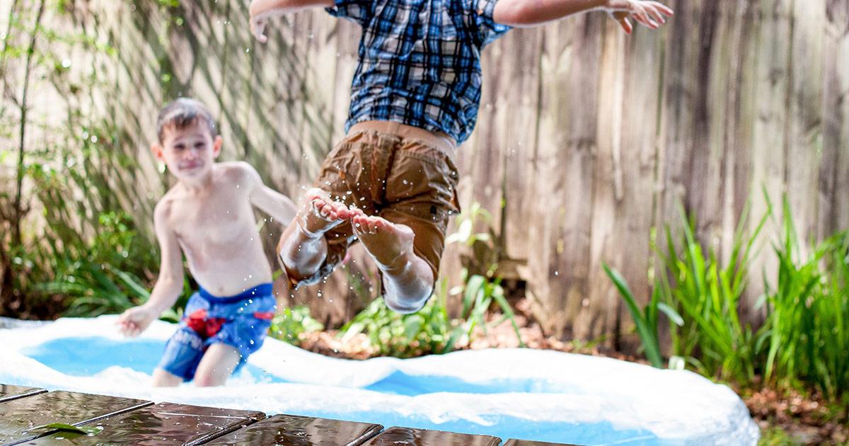 Pool Gartenteich Kindersicher Machen Safetymum