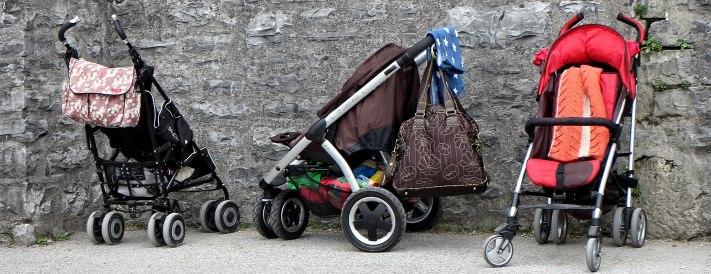 Es gibt eine Vielzahl von Kinderwagenmodellen