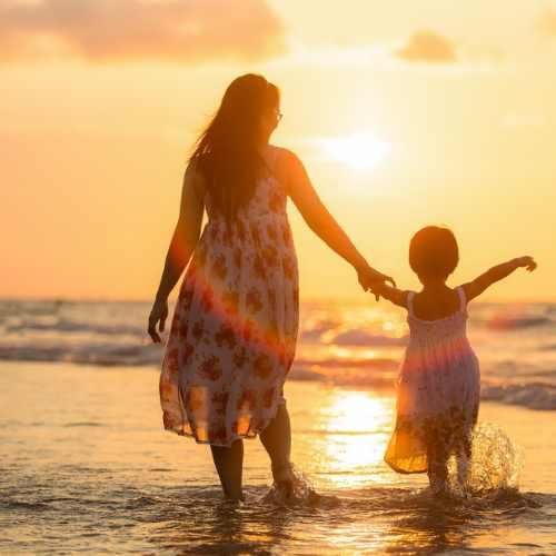 Kindersicherheit am Strand